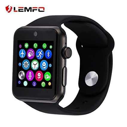 Amazon.com: AMPM24US LEMFO LF07 Smart Watch 1.54 Inch Screen ...