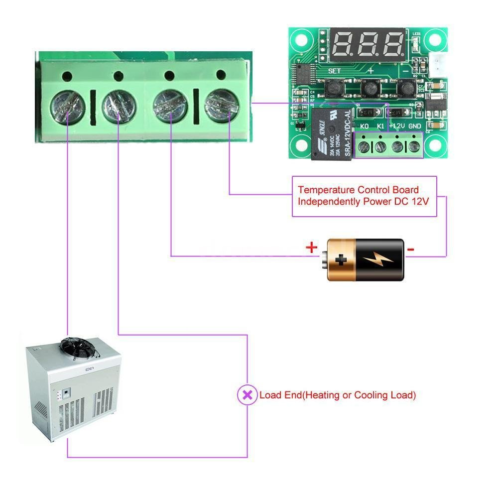 618hwXEBWfL._SL1000_ dc 12v digital led thermostat temperature control switch module xh  at n-0.co