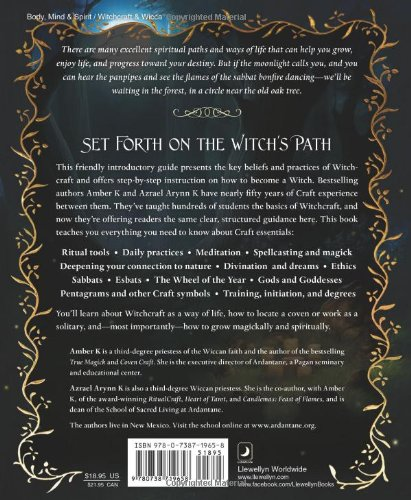 How to Become a Witch: The Path of Nature, Spirit and Magick: Amazon.in: Amber K, Azrael Arynn K: Books