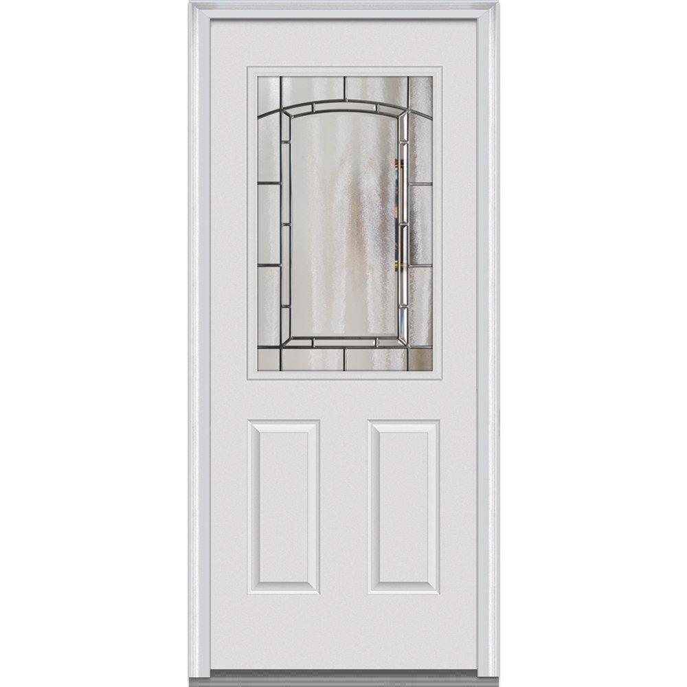 2 Panel Steel Entry Door Stanley Exterior Doors Steel Exterior Entry Doors Door And Millwork