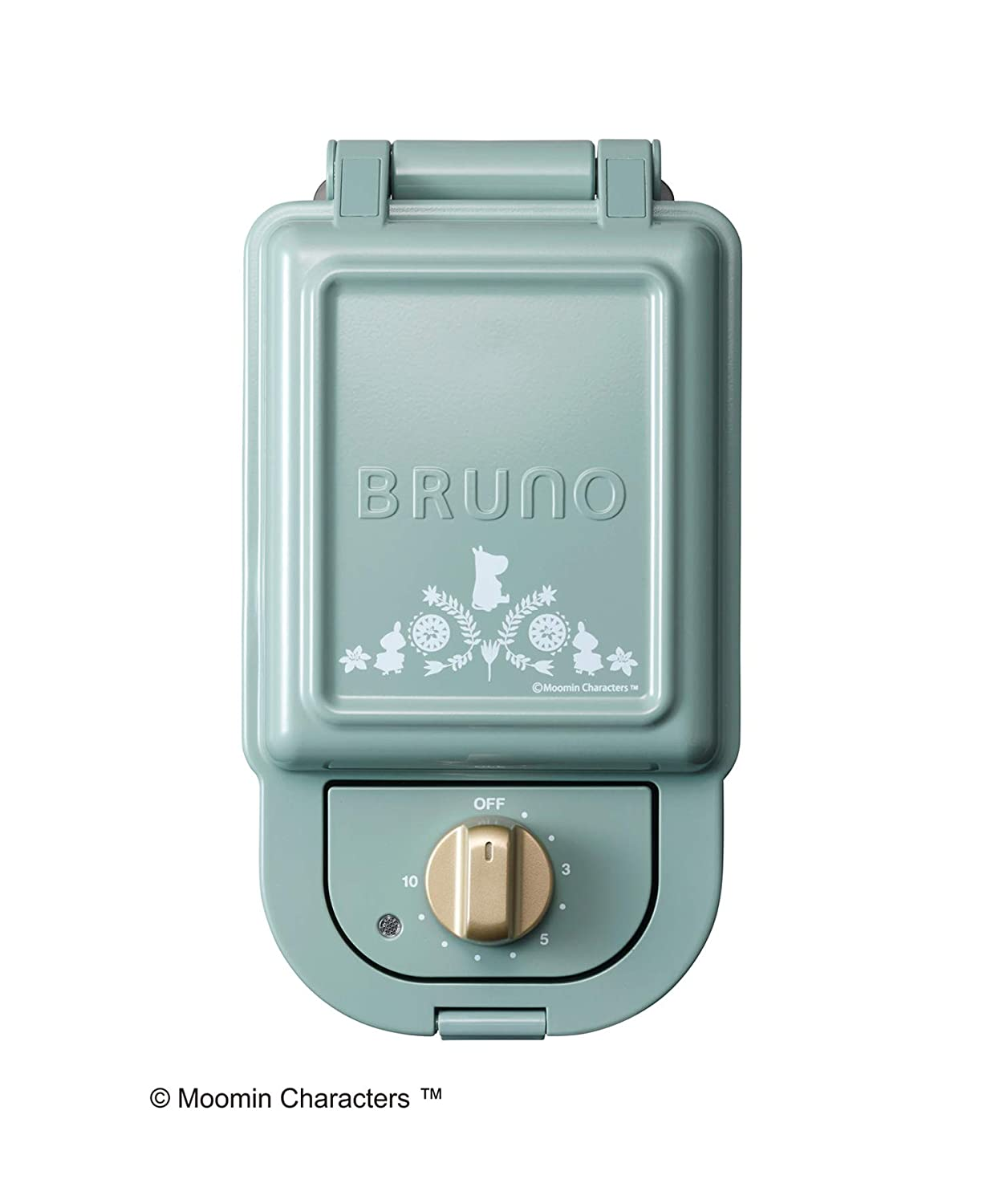 BRUNO Moomin Hot Sand Maker Single Blue Gray BOE050-BGR Japan Domestic Genuine Products Ships from Japan