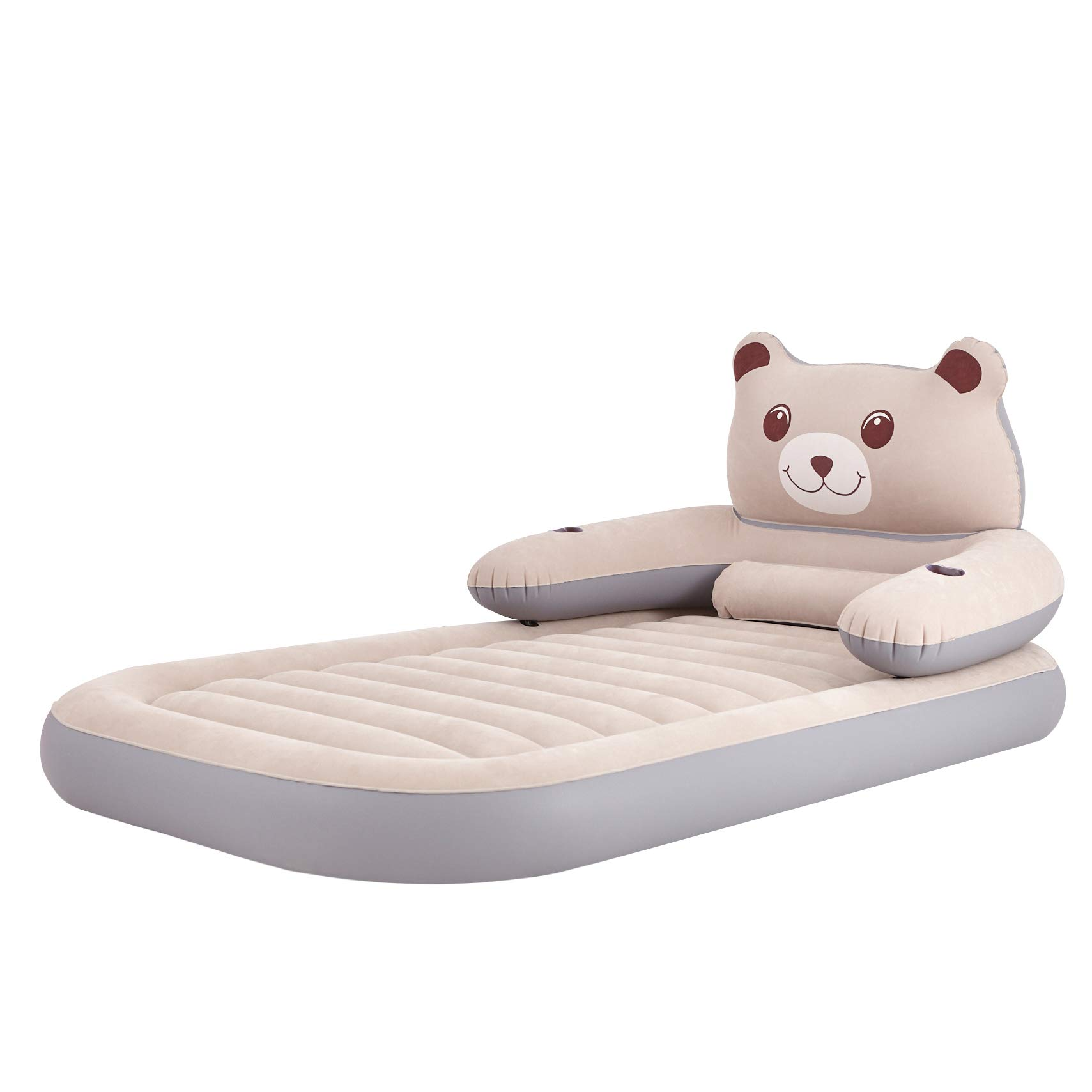WeTong Twin Size Air Mattress, Inflatable Toddler Travel Bed Firm