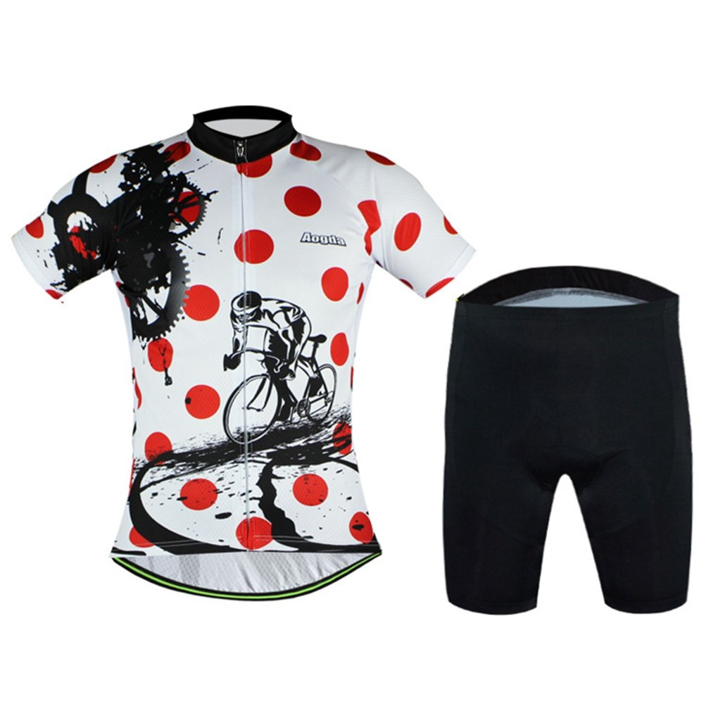 bed33a8c6 Uriah Cycling Jersey and Shorts Sets Breathable Short Sleeve