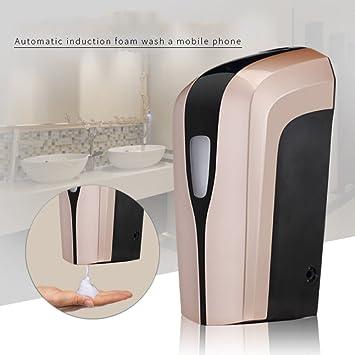 Sensor automático,Montaje en pared,Dispensador de jabón infantil,Cocina Inicio Dispensador de jabón automático sensor Jabón de mano Box de ducha ...