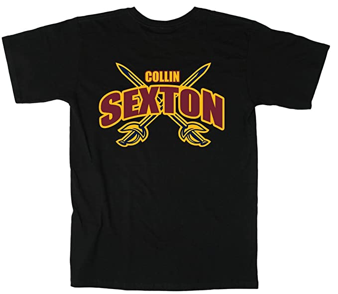 Black Cleveland Sexton Logo Hooded Sweatshirt