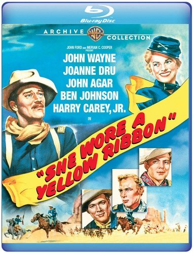She Wore a Yellow Ribbon [Blu-ray] (Best Of Olivia Del Rio)