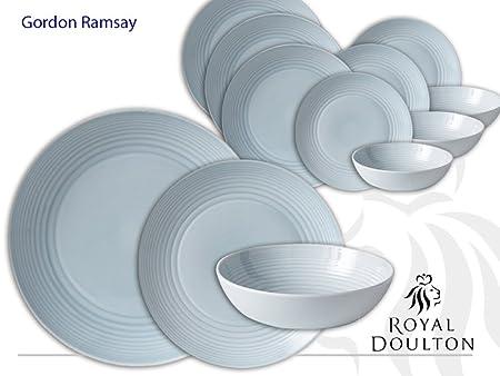 Royal Doulton Gordon Ramsay Maze Blue 12 piece Set  sc 1 st  Amazon UK & Royal Doulton Gordon Ramsay Maze Blue 12 piece Set: Amazon.co.uk ...