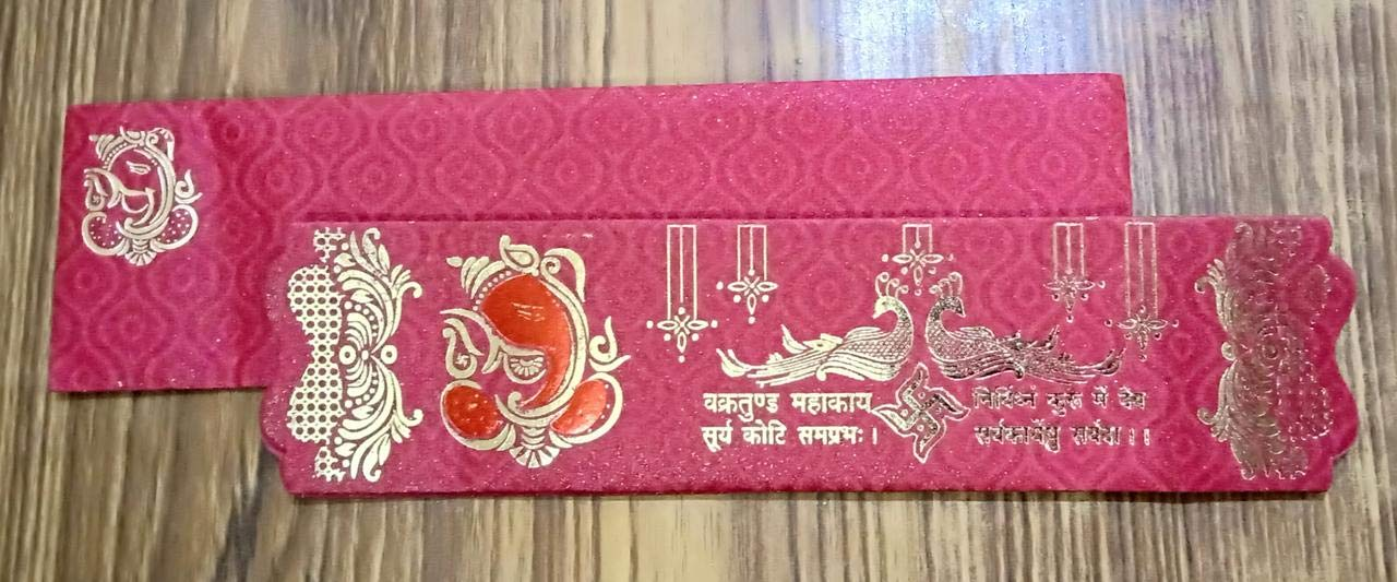 Gulshan Premium Wedding Cards Collection With High Gloss Finish And