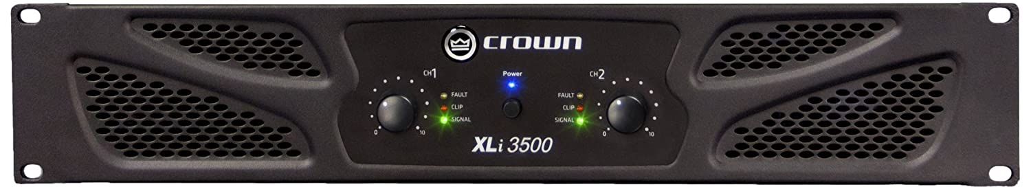 CROWN XLI800 Amplificateur 2 x 300 W sous 4 ohms - Noir