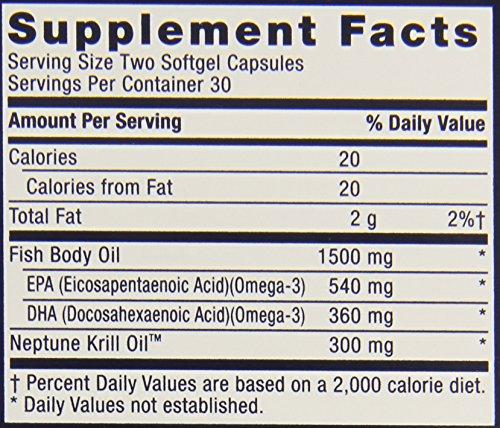 Gnc triple strength fish oil 1500 plus krill supplement for Gnc triple strength fish oil 1500