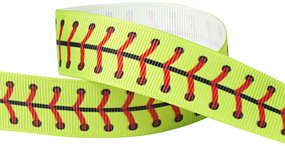 Q-YO - Cinta de béisbol para manualidades, envolver regalos, lazos ...