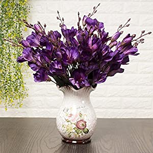 Artificial Flowers Purple