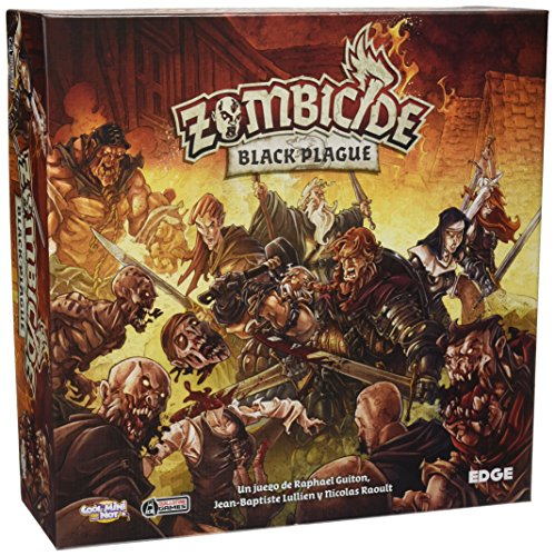 Zombicide-Juego-Black-Plague-Edge-Entertainment-EDGBP001