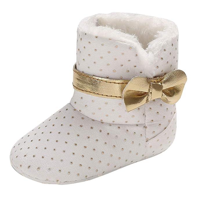 Elecenty bambini Classico Inverno Semplice Scarpe Caldo Bambino Stivali   Amazon.it  Abbigliamento 1b83c3589eb