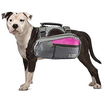 Go Fresh Pet Mochila arnés Senderismo Saddlebags para Perros para ...