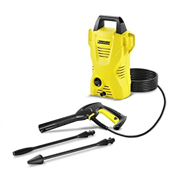 Karcher K2 Compact 1400-Watt Pressure Washer (Yellow/Black)
