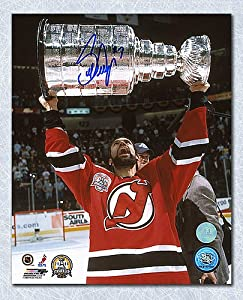 Scott Niedermayer Devils Stanley Cup Autographed 8X10 Photo - Authentic Autographed Autograph