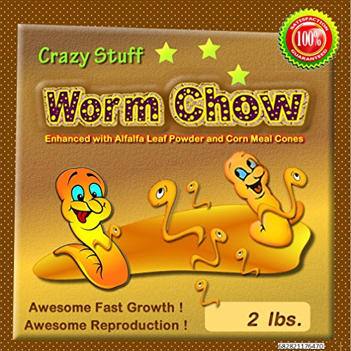 - Worm Chow (Crazy Stuff Worm Chow) 2 Lbs. Awesome Worm Growth Food!