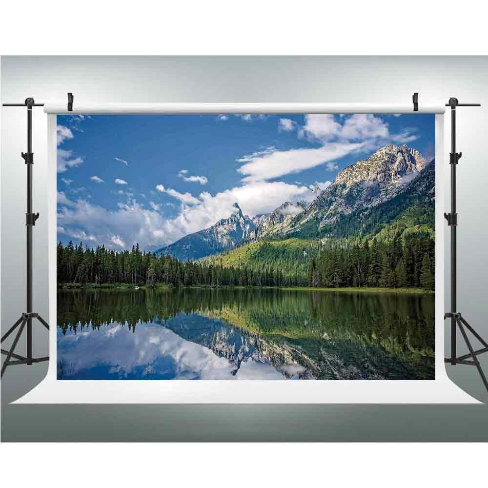 背景幕 写真 風景 写真 背景 スタジオ 写真家 背景 小道具 写真 ゼルンシの池の近くに クランジスカ ゴラ スロベニアの不思議な景色 幅39インチ × 長さ59インチ 118\ Multi_05 B07GNS83XK