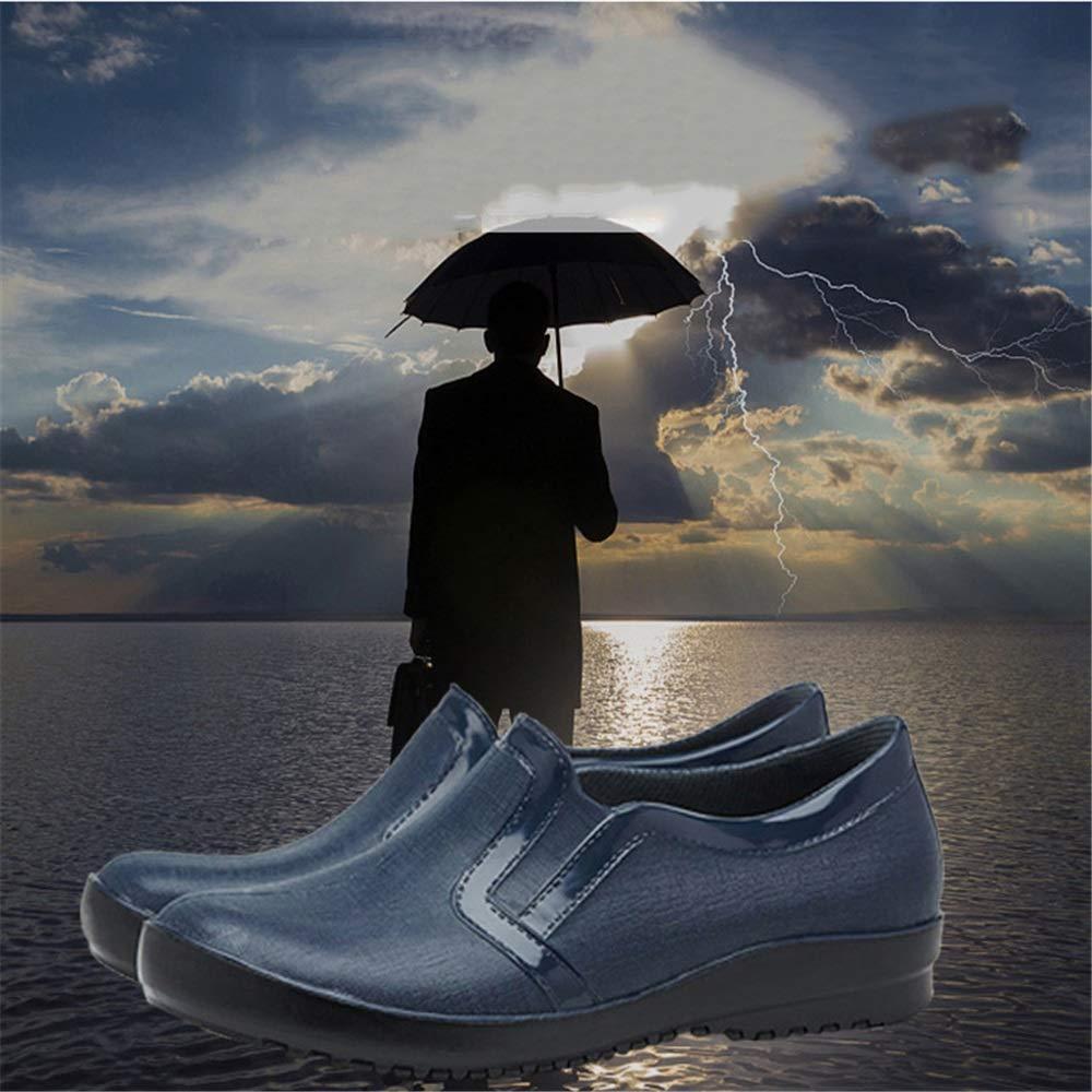 Belingeya Regenschuhe für Herren Frühlings-Sommer-Mann-Beleg auf Regen-Stiefel-niedriger Regen-Stiefel-niedriger Regen-Stiefel-niedriger Ventilations-Nicht Beleg-Wasserdichten Überschuh-Licht der Männer Schneestiefel für Männer (Größe   41 1 3 EU) 4a06cc