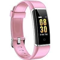AUSUN Bracelet Connecté, FT901 Montre Connectée Chronomètres IP67 Etanche Femme Homme Adolescent, Podomètre, Tracker d'Activités Sommeil, Notification Appel SMS iOS Android