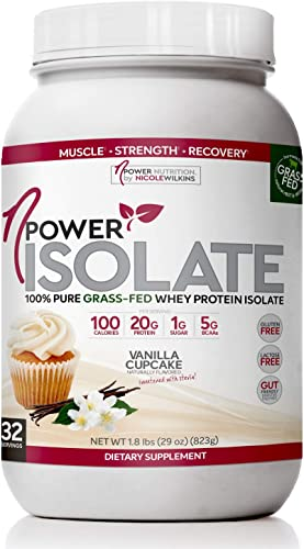 nPower Nutrition Grass Fed Whey Protein Isolate Powder