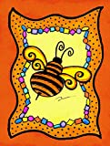 Caroline's Treasures LD6050CHF Bee Canvas Flag, Large, Multicolor Review