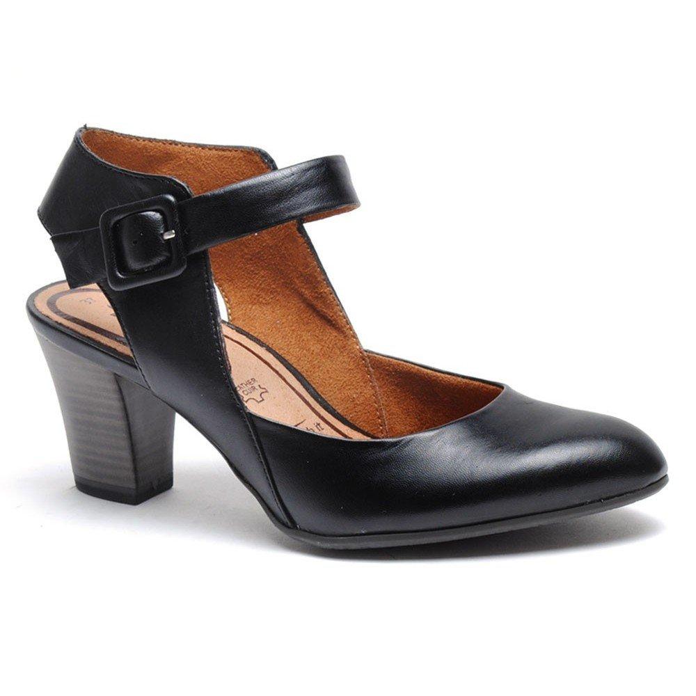 Tamaris Women's Amily-1 1-29610-28 Black Sandal
