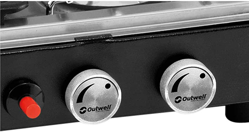 Outwell Gourmet 3-Burner Campingkocher mit Grill: Amazon.es ...