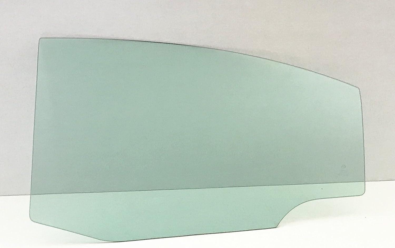 NAGD Compatible with 2007-2012 Lexus ES350 4 Door Sedan Driver Side Left Rear Door Window Glass