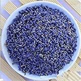 1/2libra Azul lavanda Lavanda Seca Buds sachets seco flores zacate, Azul, 1