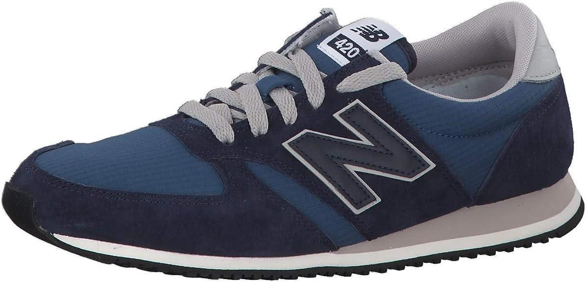 mesa infinito Sostener  Amazon.com | New Balance 420 Mens Sneakers Grey | Fashion Sneakers