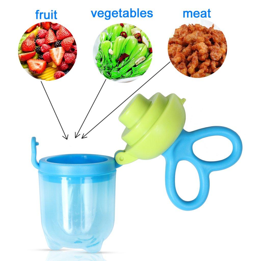 Amazon.com: Edealing Baby Food Feeder/Fruta Chupete sin BPA ...