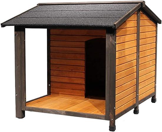 Casetas para perros Casa Para Mascotas Jaula Para Perros Casa Para Gatos Jardín Exterior De Madera