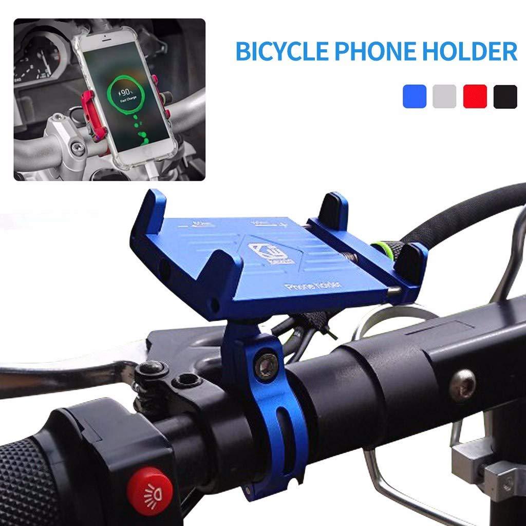 Bicicleta Soporte para teléfono Manillar Clip Bicicleta de montaña ...