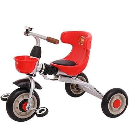 Bicicleta plegable del bebé del triciclo de los niños ligeros bicicleta del bebé de 1-