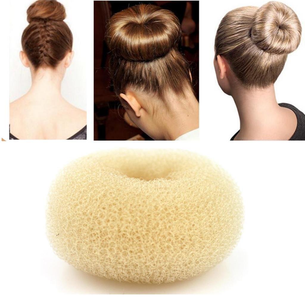 Amazon Ilulu 3 Pieces Hair Donut Bun Maker Size Large Medium