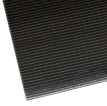 NoTrax 406 Razorback Anti-Fatige Mat with Dyna-Shield PVC Sponge 2 Width x 3 Length x 1//2 Thickness Black 2/' Width x 3/' Length x 1//2 Thickness Superior Manufacturing 406S0023BL