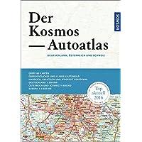 Der Kosmos Autoatlas - Deutschland 1 : 300 000 - Österreich, Schweiz 1 : 400 000