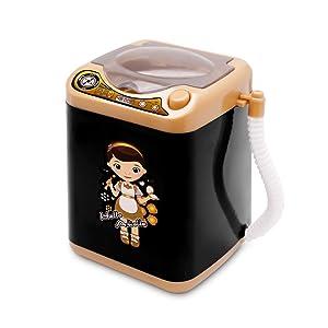 Upgrade Makeup Sponge Washing Machine, Deep Clean Mini Washing Machine Toy, Electronic Washing Machine for Makeup Sponge, Powder Puffs