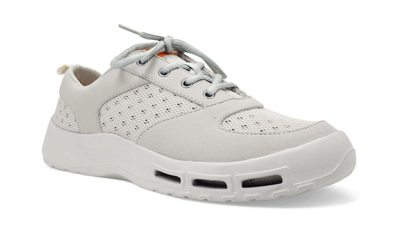 SoftScience The Fin 3.0 Men's Boating/Fishing Shoes - Light Gray, Size 11