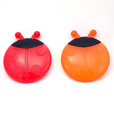 Sassy Ladybug Teethers Developmental Toy, 2 Pack, Colors May Vary : Baby Teether Toys : Baby