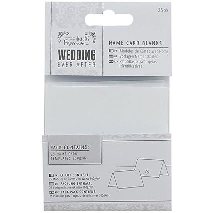 Amazon.com: DOCrafts PMA158160 Papermania Ever After Wedding ...