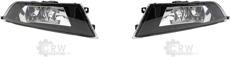 Nebelscheinwerfer H8 Set lunks und rechts f/ür FABIA III NJ Bj 08//14-