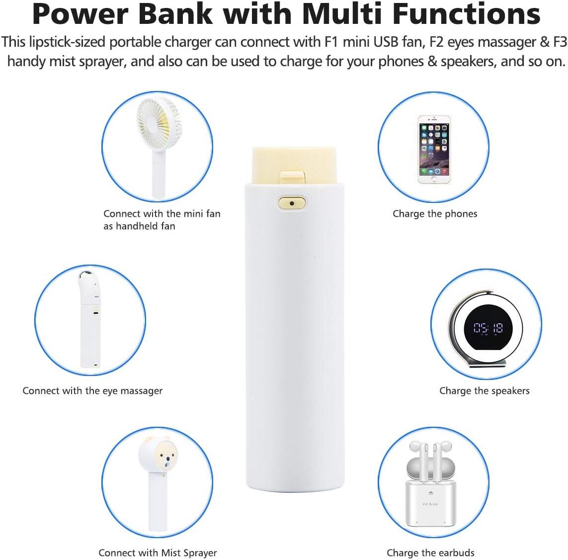 Household Fans Mini Handheld Fan Small Personal Portable Desk ...