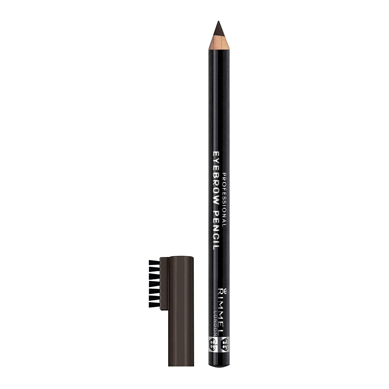 Rimmel Eyebrow Pencil Black Brown 14 G Amazon Beauty