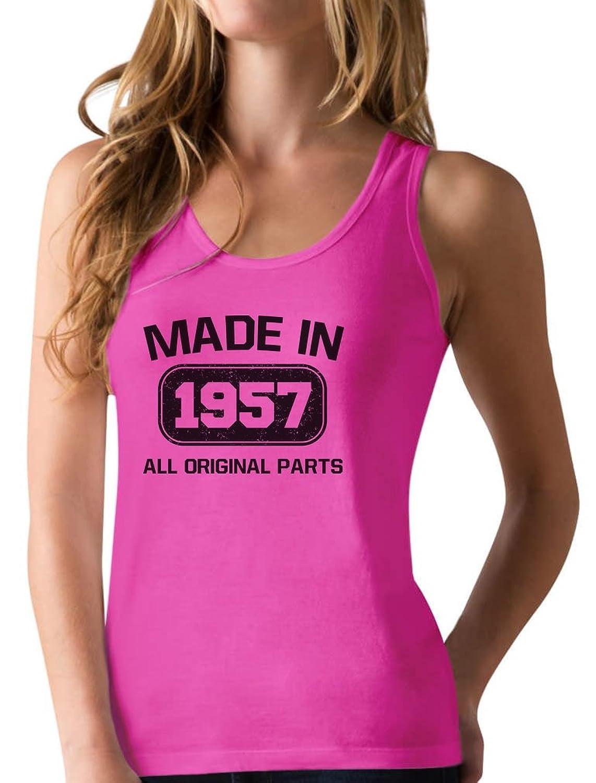 TeeStars - Made in 1957 60th Birthday Gift Idea Racerback Tank Top