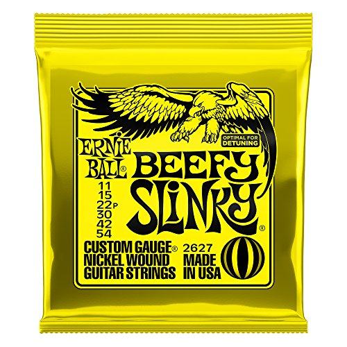 Ernie Ball Beefy Slinky Nickel Wound Set, .011 - .054