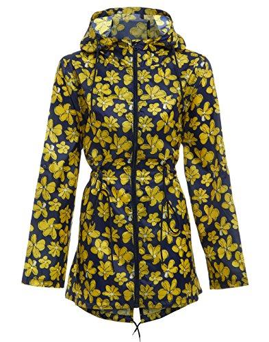 Mujer Dalsa Parka Abrigo 1 Design Impermeable para pxFwxARq