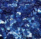 Sapphire Blue Natural Mica Flakes - One Pound - 311-4392